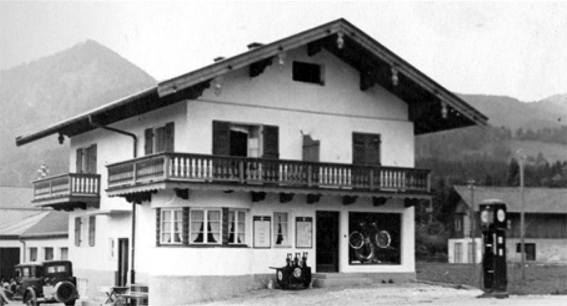 Fahrradgeschäft Haus St. Christopherus Bad Wiessee