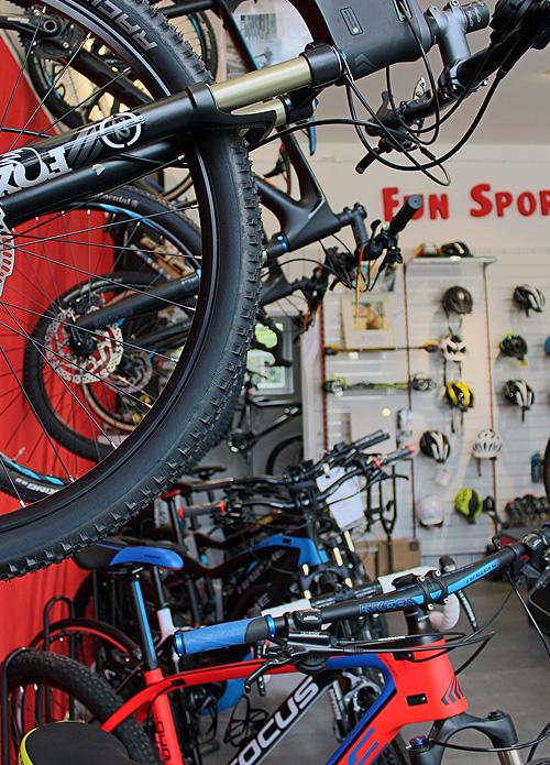 Fahrradladen in Bad Wiessee am Tegernsee Fun Sports