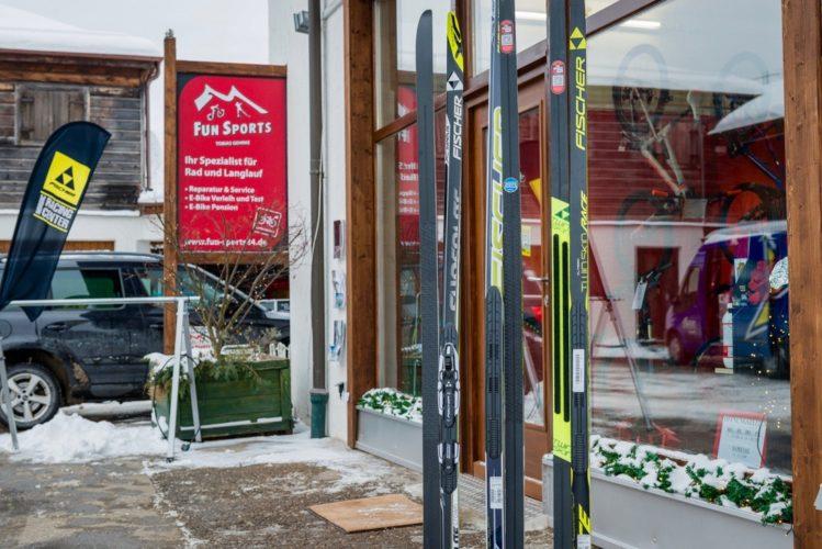 LAnglauf Ski kaufen Tegernsee